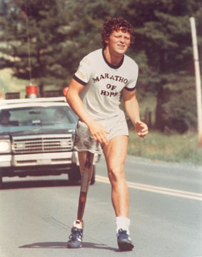 a biography of terry fox an athlete August 28, 1998 – the terry fox foundation announced a new infusion of $36 million in funds for canadian cancer research the new program, called the terry fox new frontiers initiative, represents a departure from any existing research programs and will target increased innovation and risk.